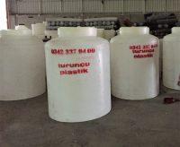 polietilen şalgam tankı